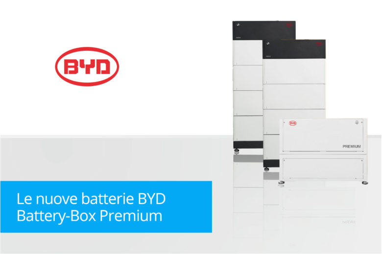 Nuove Batterie BYD Battery Box Premium